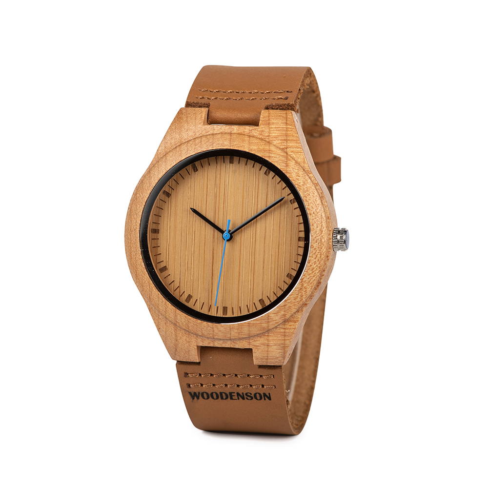 3ba9cbf55857 Reloj de pulsera de madera de olivo modelo Deva