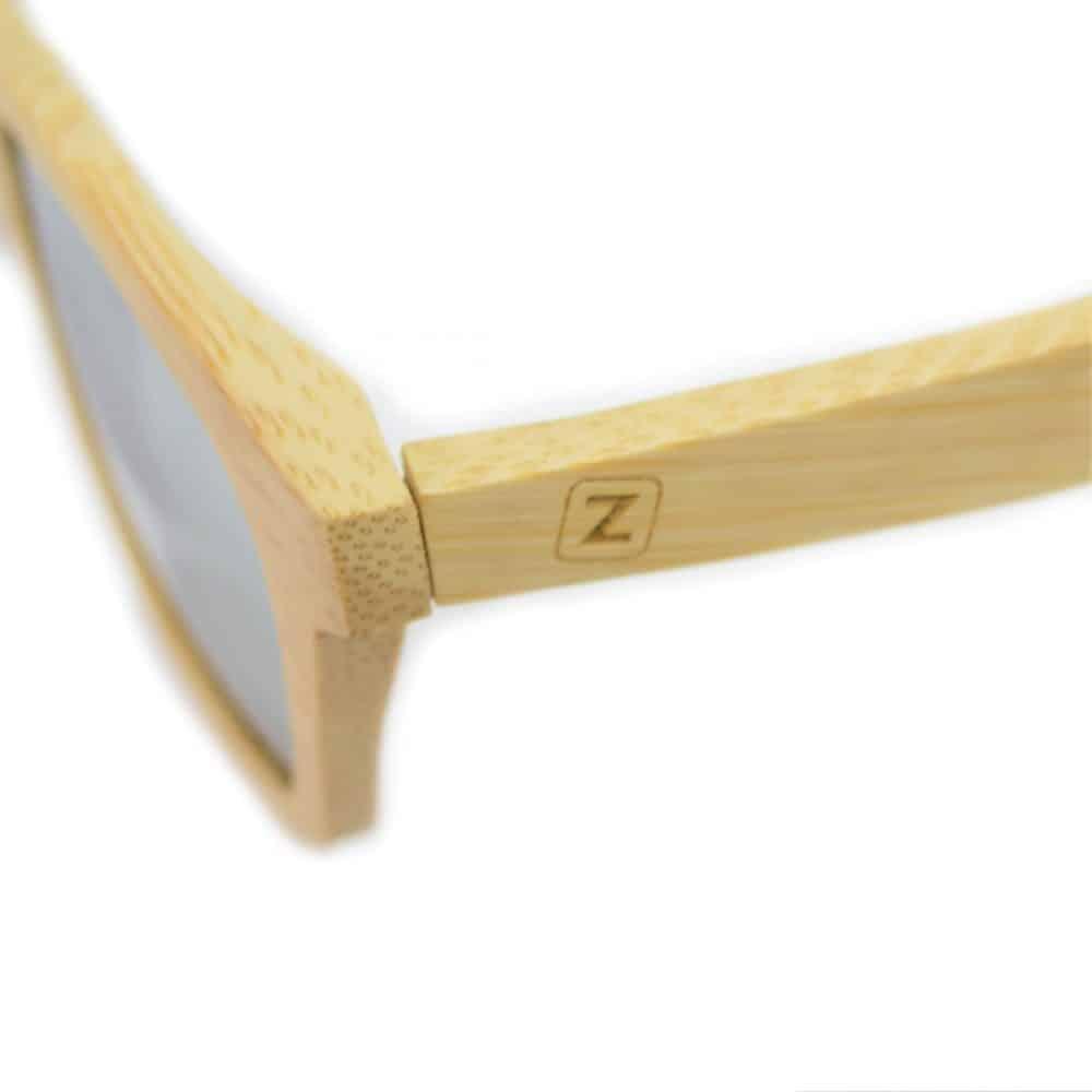 Gafas de madera con lente espejo Tobimasu