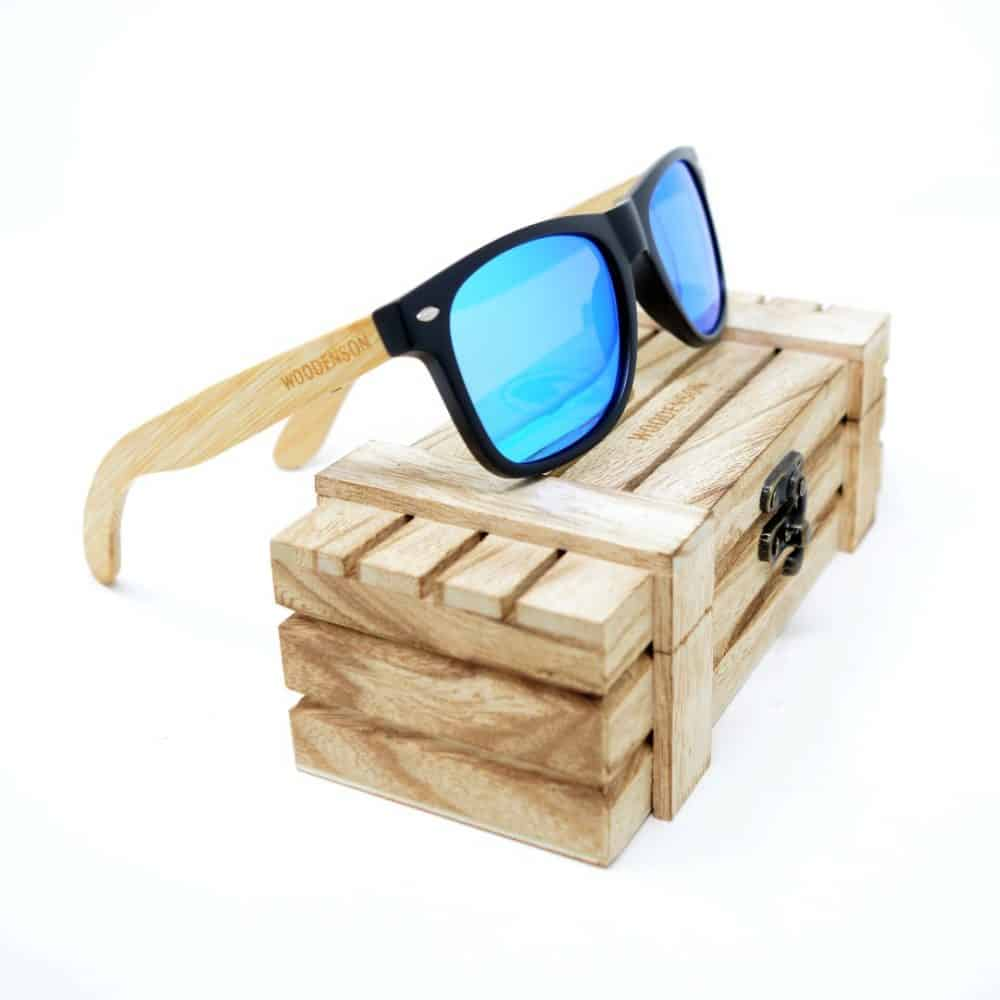 gafas de madera fuyur