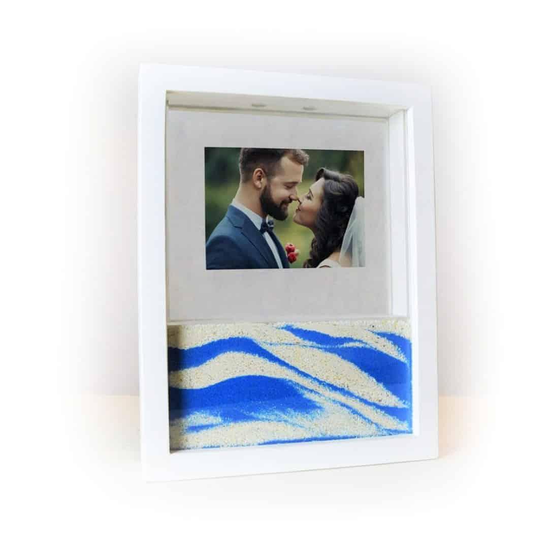 Marco para la ceremonia de la arena en tu boda
