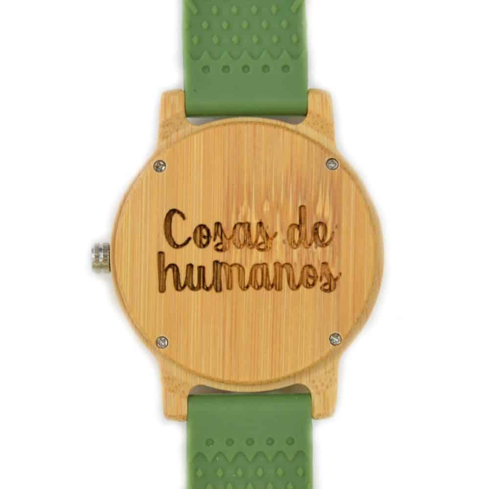 Reloj de pulsera de madera Hope & Go