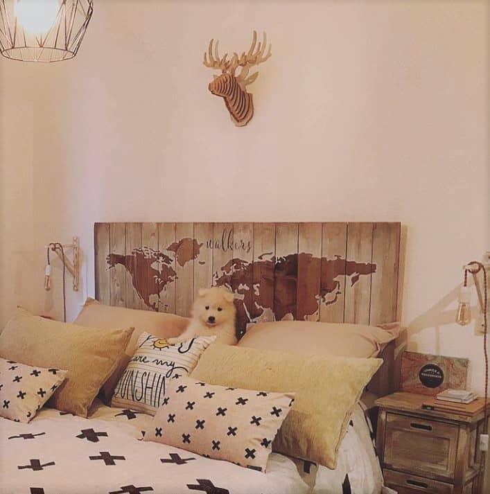 Cabeza de ciervo decorativa de madera woodenson - Cabeza de ciervo decoracion ...