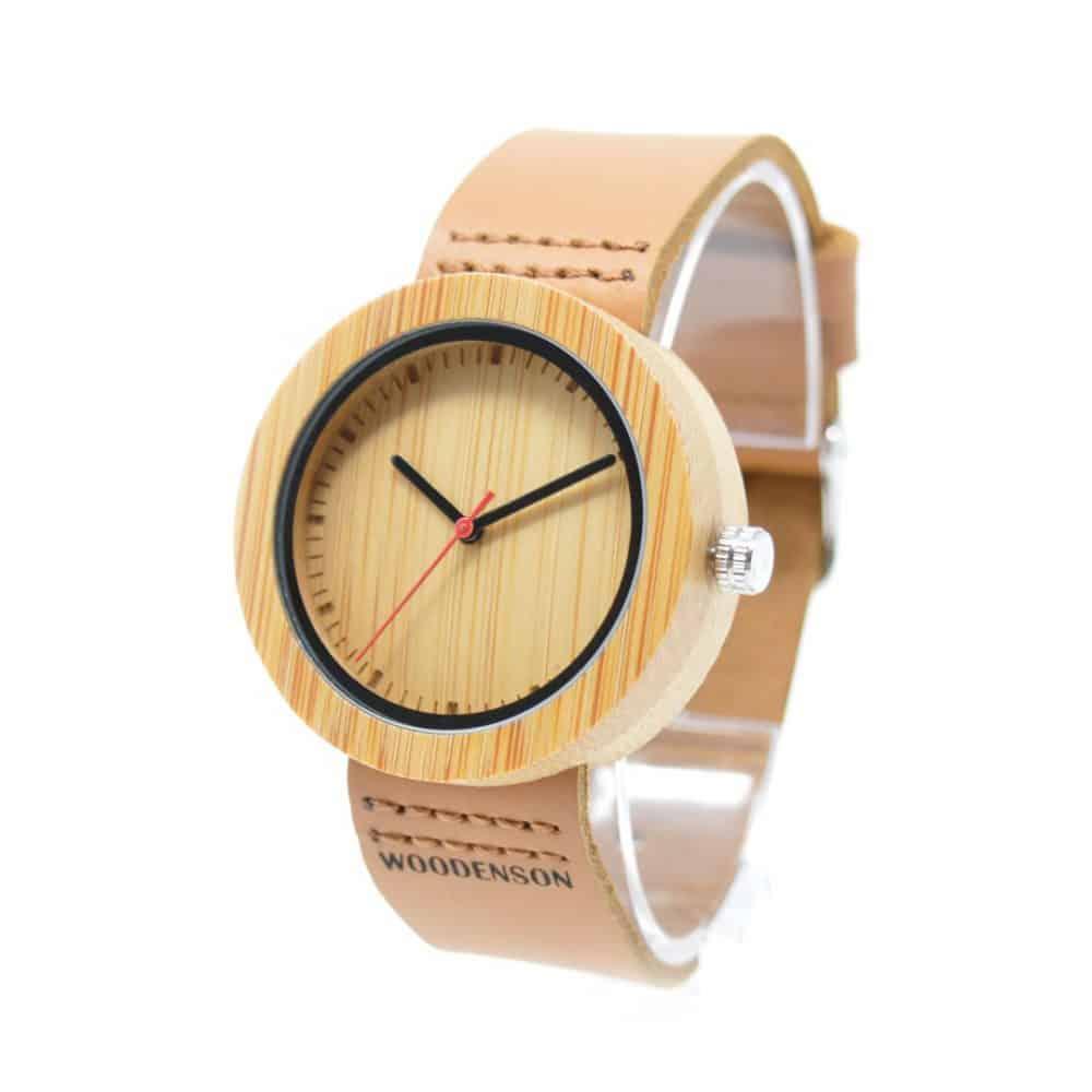 Reloj de pulsera de madera para chica Nator