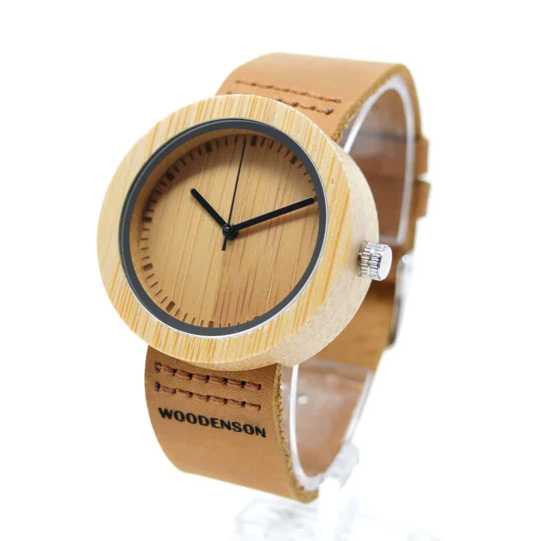 Reloj de pulsera de madera para chica nator woodenson - Relojes de pared personalizados ...