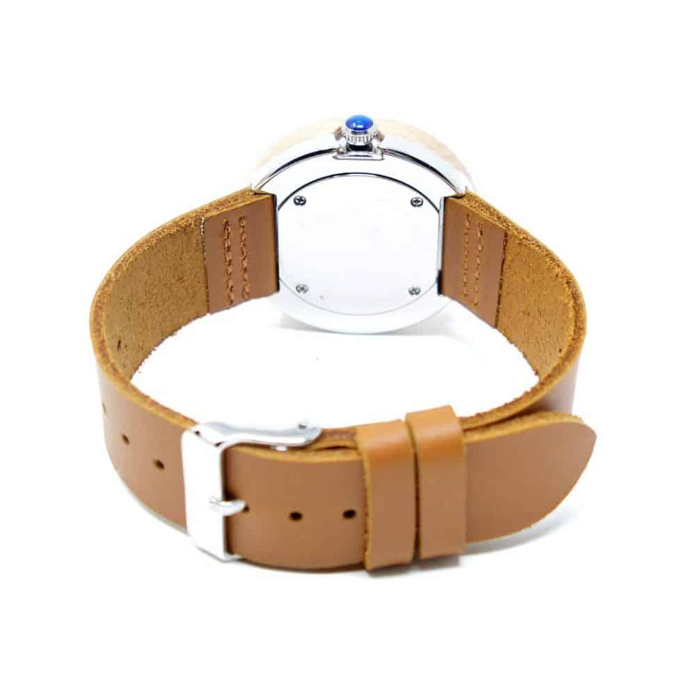 Reloj de madera sin agujas Nea Selini
