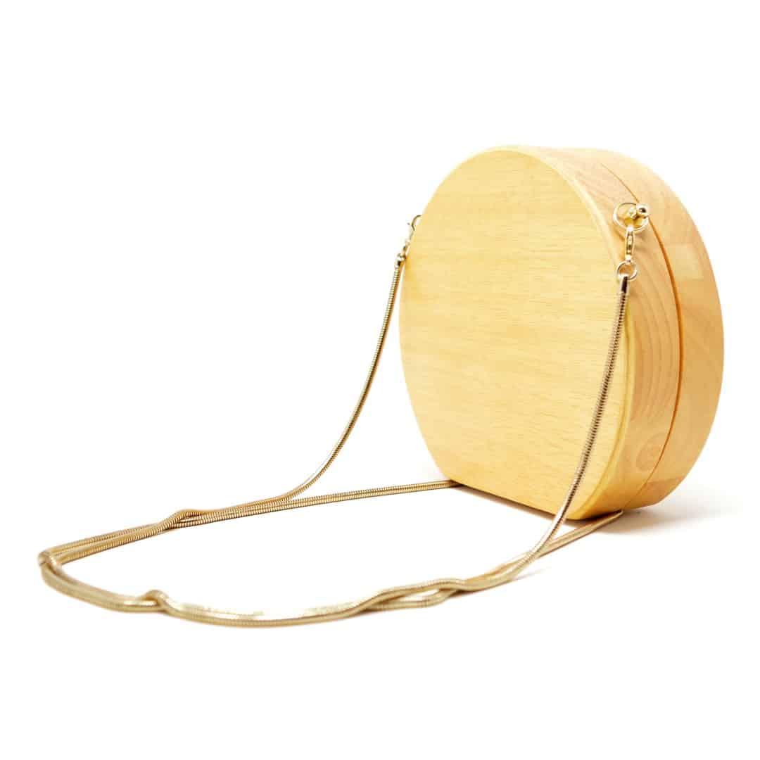 Bolso de madera modelo Chizu