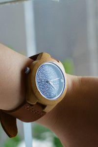 Reloj para chica madera Ruston
