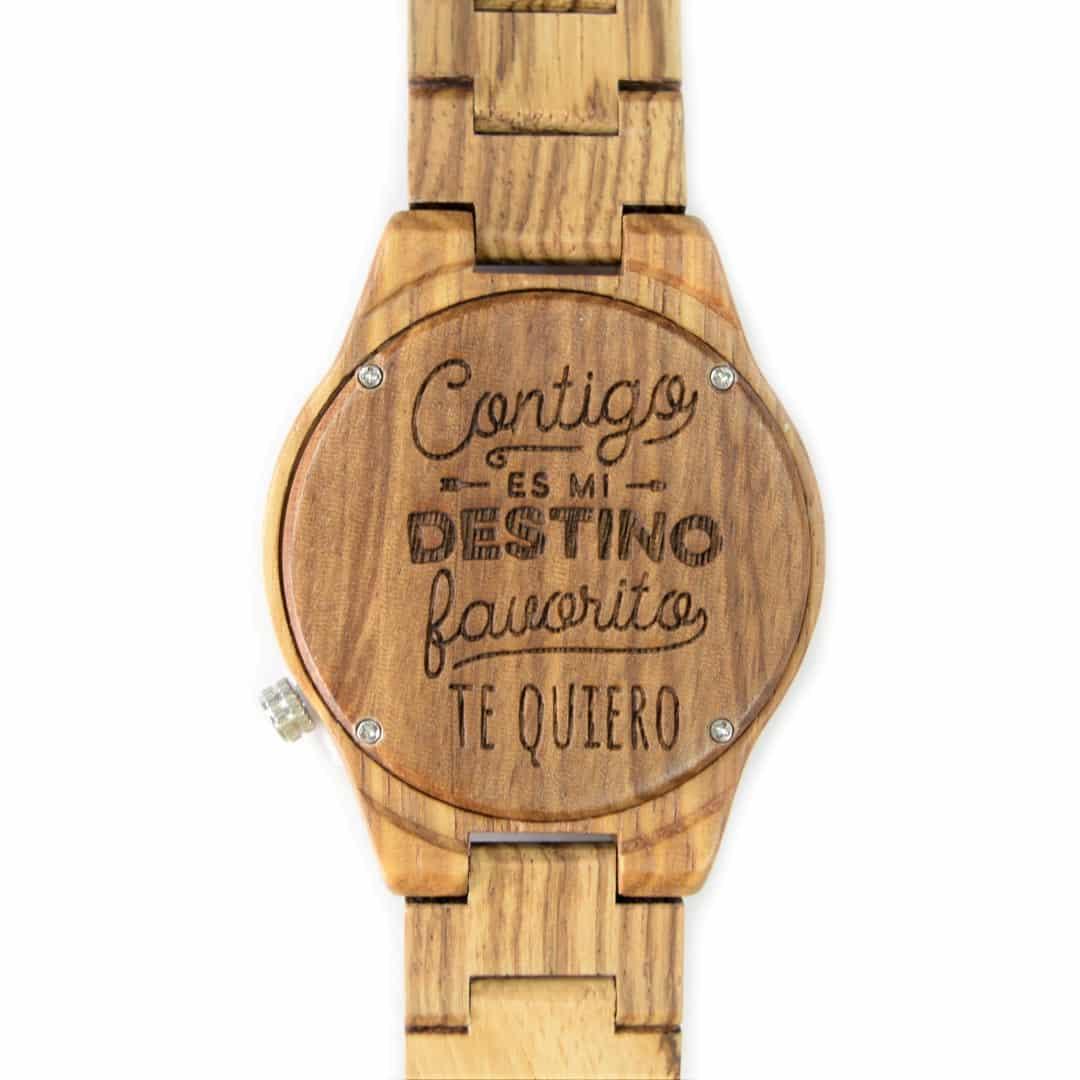 da2157609e01 Reloj de madera articulado Gaman - Woodenson