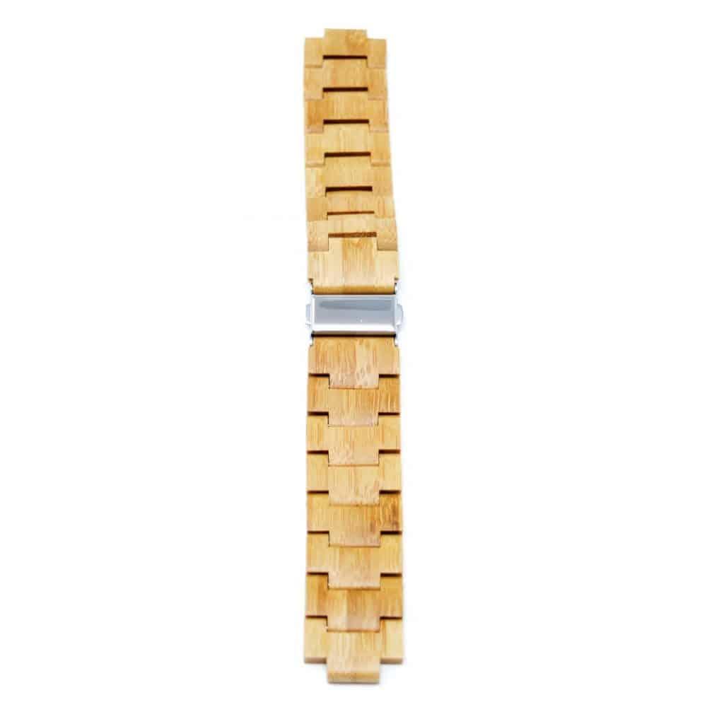 Correa de eslabones de bambú