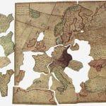 los rompecabezas de madera de la historia