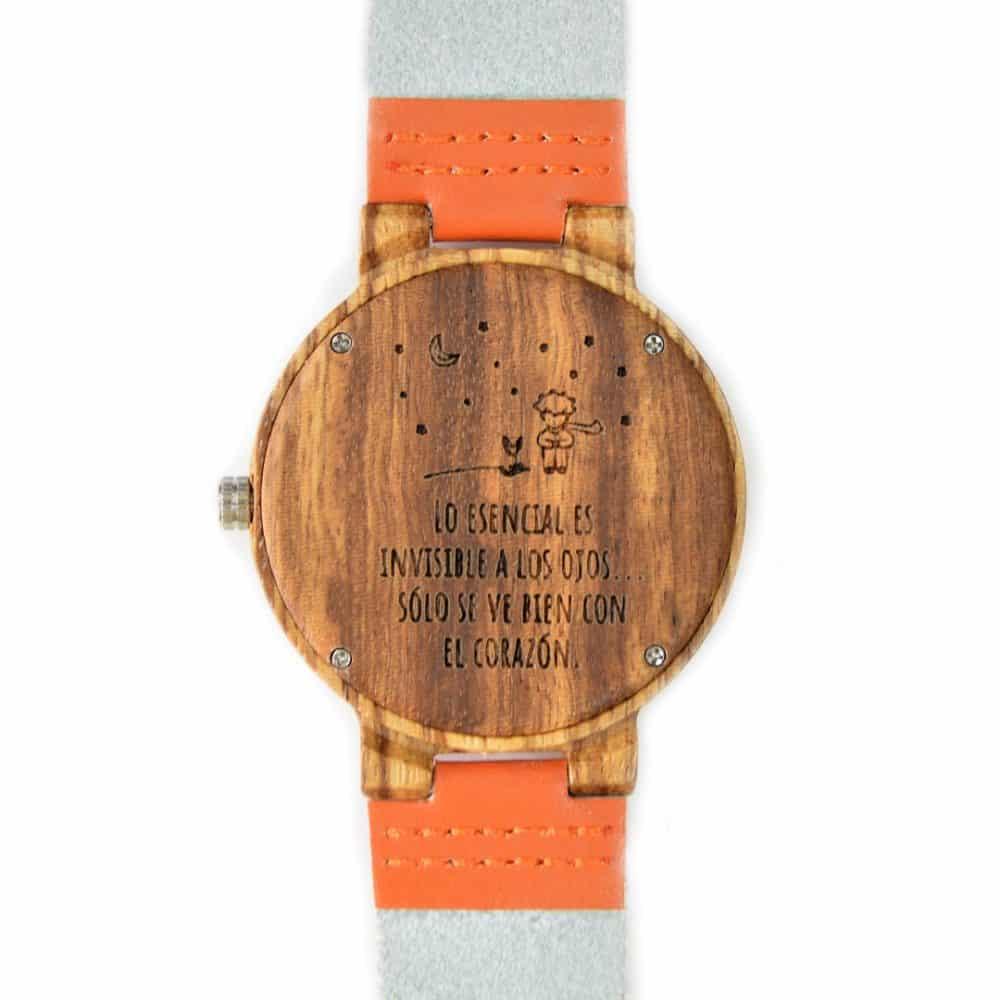 Reloj de madera de bambú Amaterasu