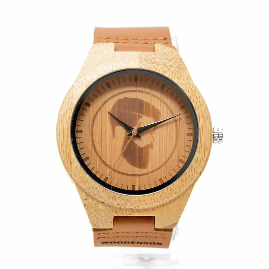 Reloj de madera modelo Woodenson
