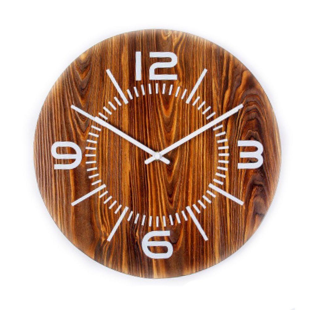 Reloj de pared de madera modelo Edd