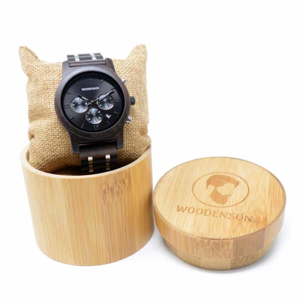 Reloj de madera Kin