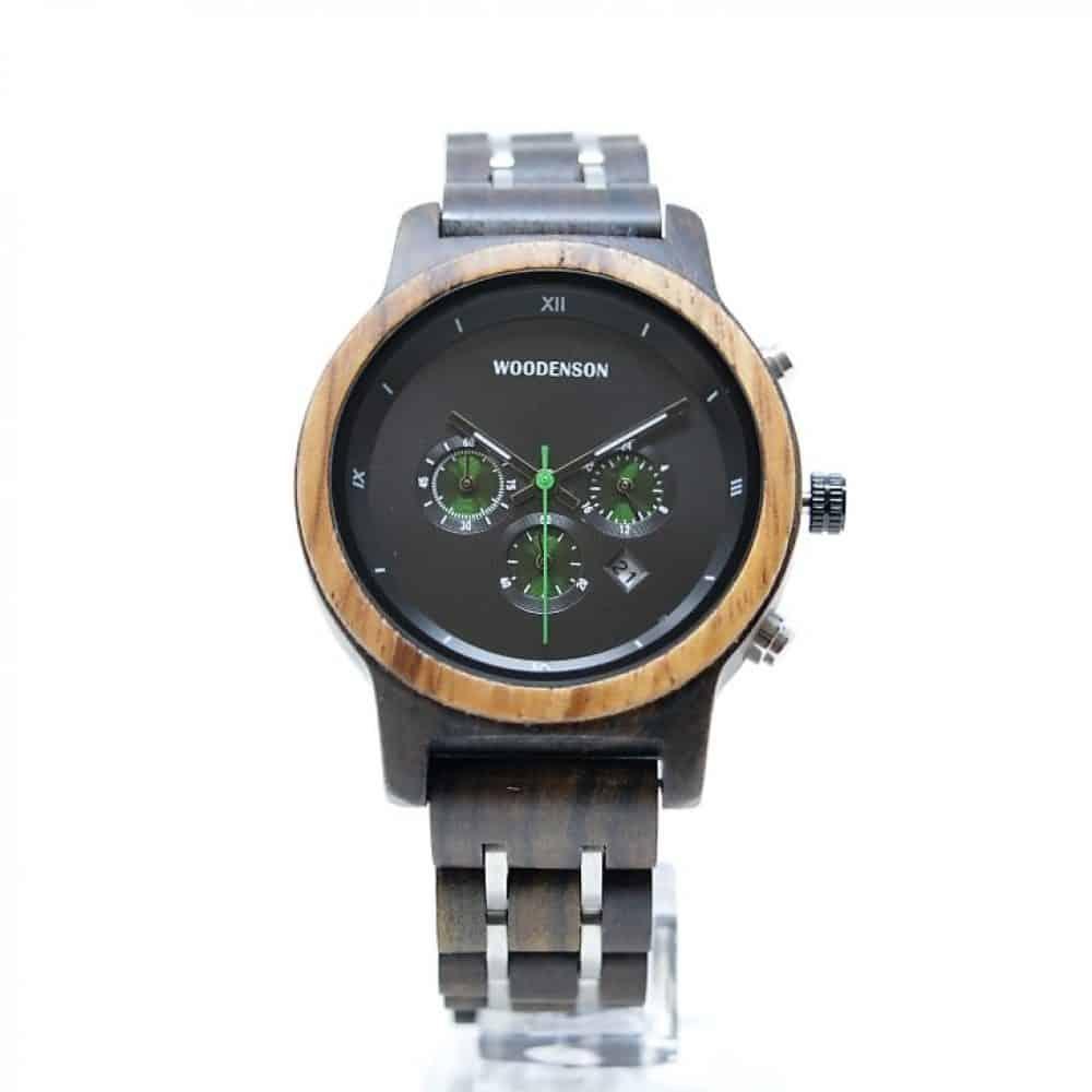 Reloj de madera de bambú modelo Takeyume