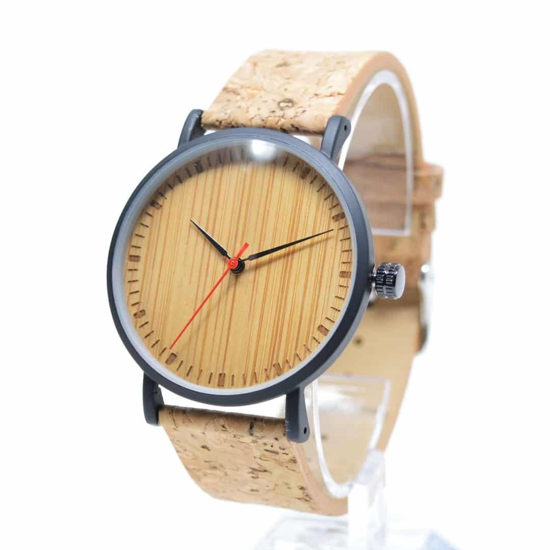 c8a8225fb015 Reloj de pulsera de corcho y madera modelo Yebushi - Woodenson