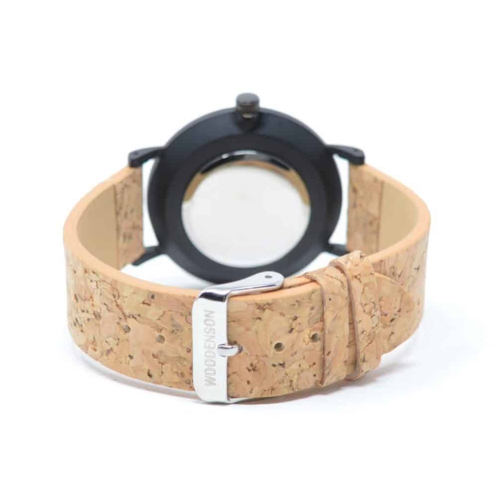 Reloj de pulsera de corcho y madera modelo Yebushi