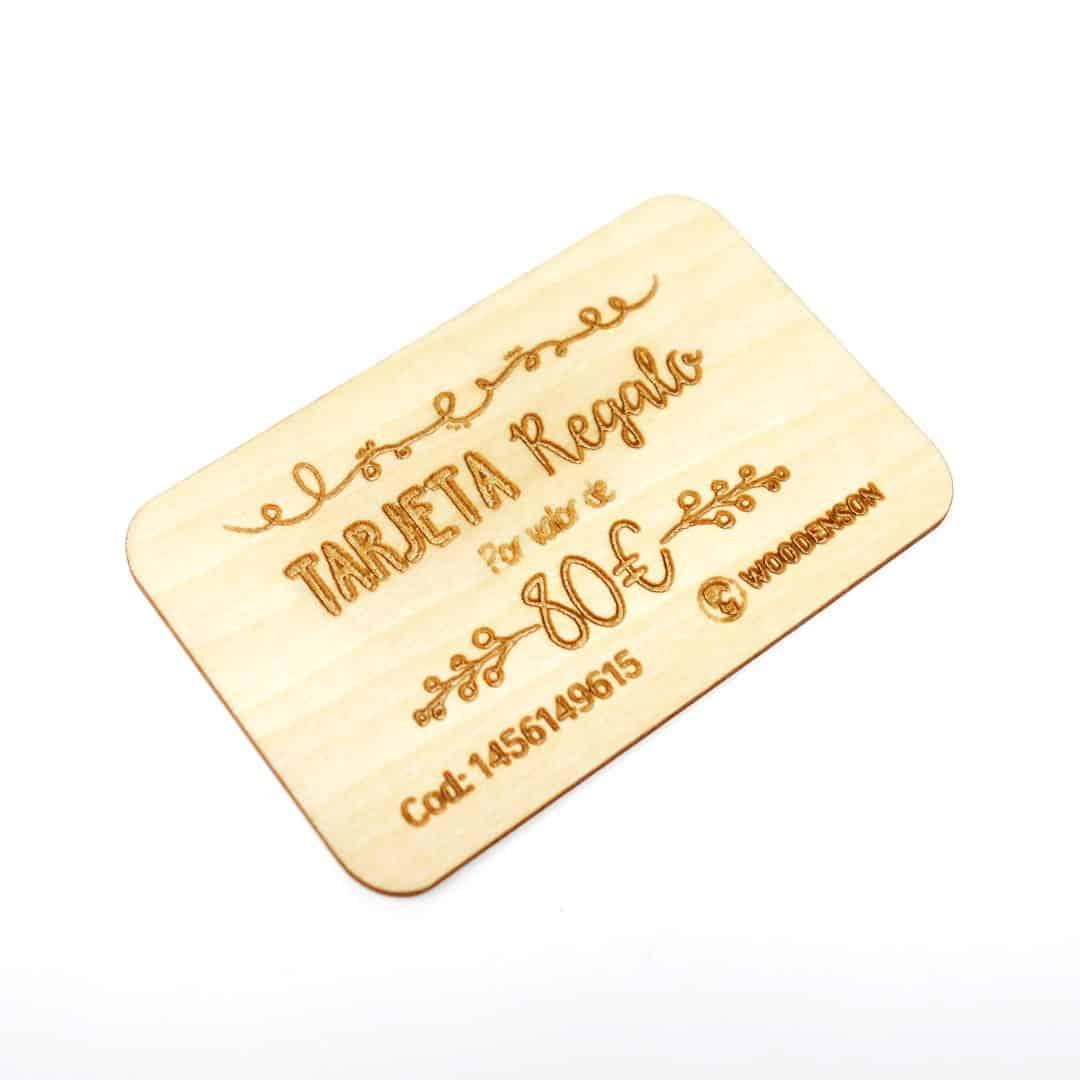 Se puede usar tarjeta regalo online 7 caiza