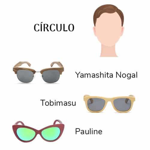 gafas cara redonda