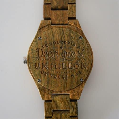 frases para regalar un reloj a tu pareja