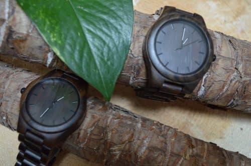 Reloj de madera ecologico