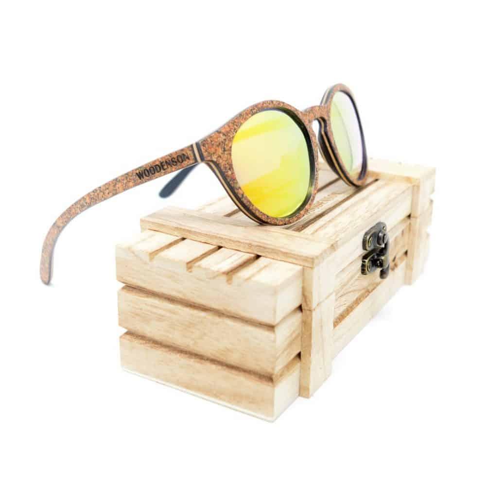 Gafas de sol de madera modelo Tashi