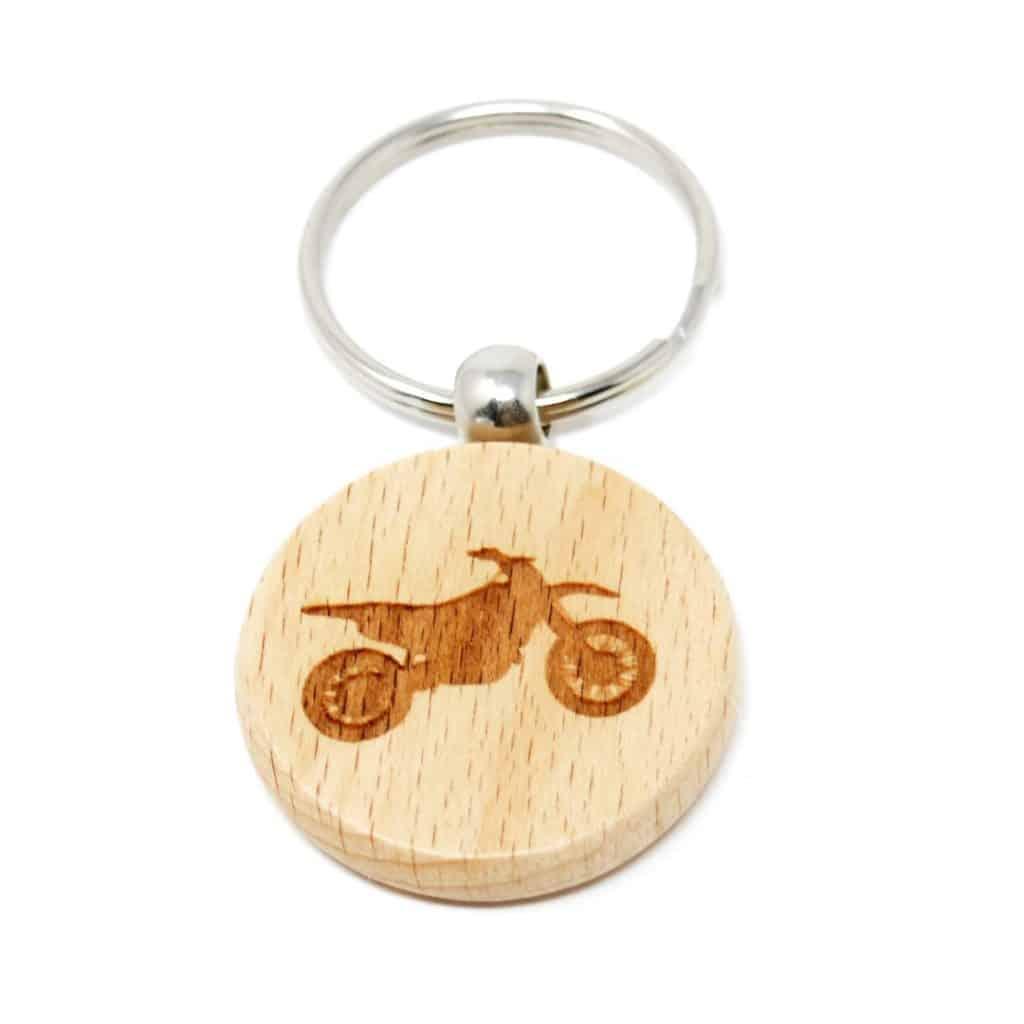 Llavero de madera ya personalizado