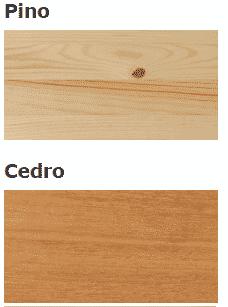 diferencia entre pino y cedro