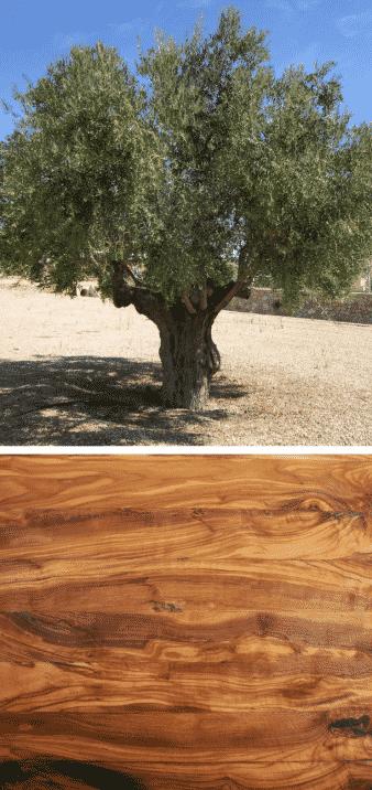 olivo madera veteada oscura oliva