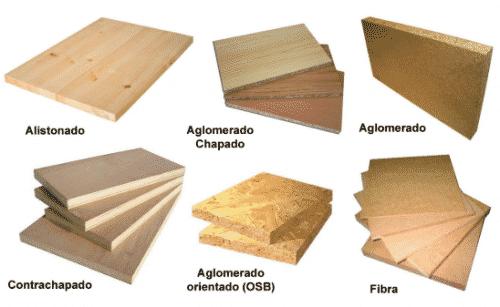 tipos de madera por formacion