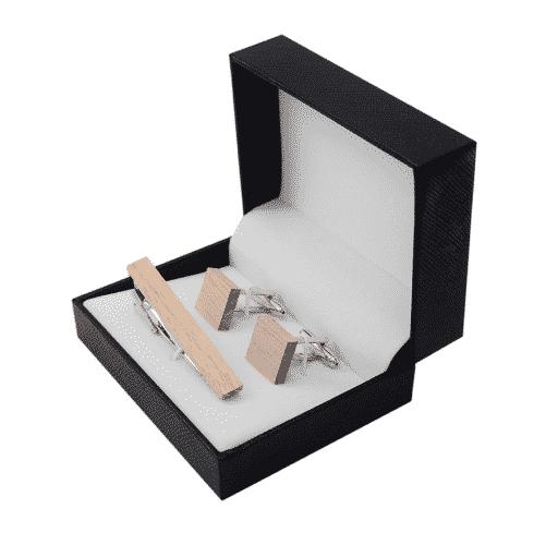Pack pinza de corbata Wiesenthal y gemelos Fux