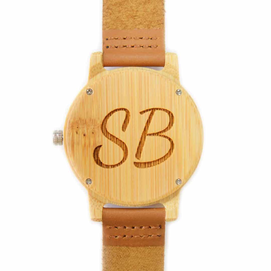 Reloj de madera Camden