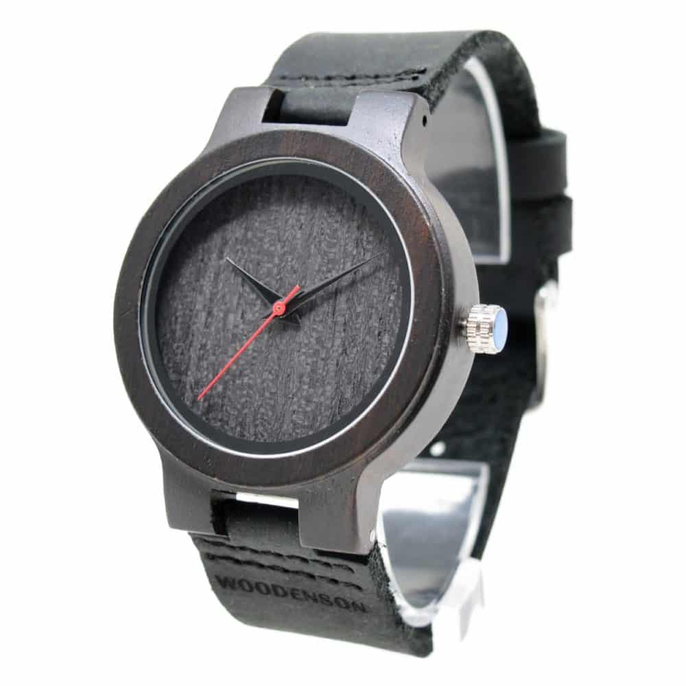 Reloj de madera modelo Noctum