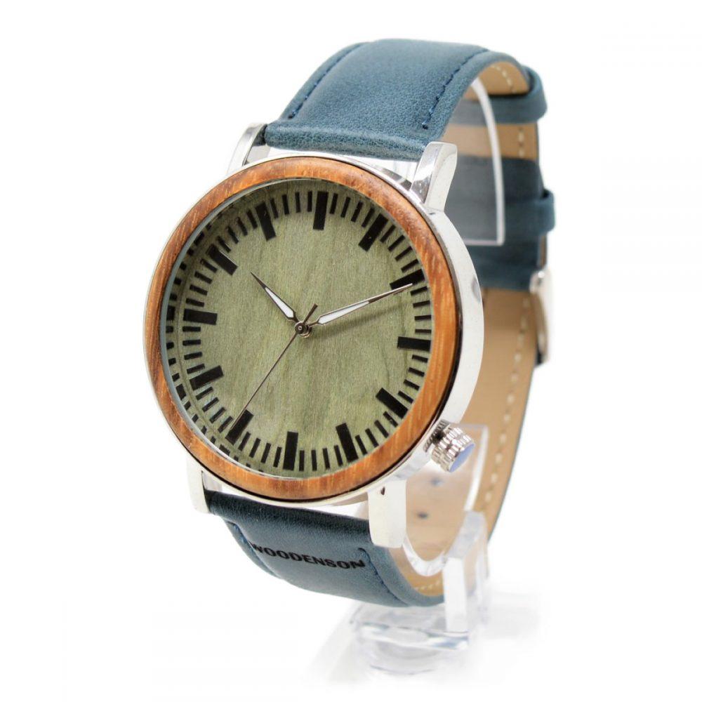 Reloj de madera y metal modelo Aequor