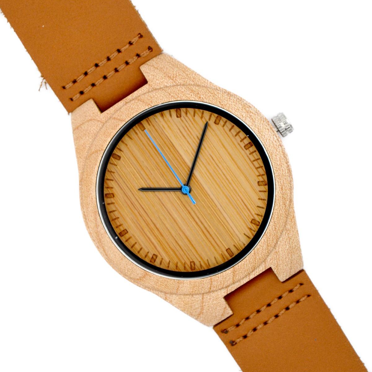 d6c24e240643 Reloj de pulsera de madera de olivo modelo Deva - Woodenson