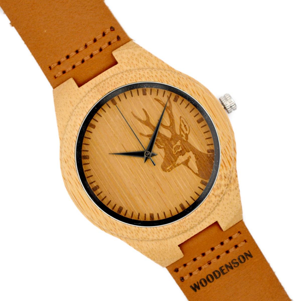 Geyik Serraje Modelo Con Correa Madera De Reloj 0wX8nkOP
