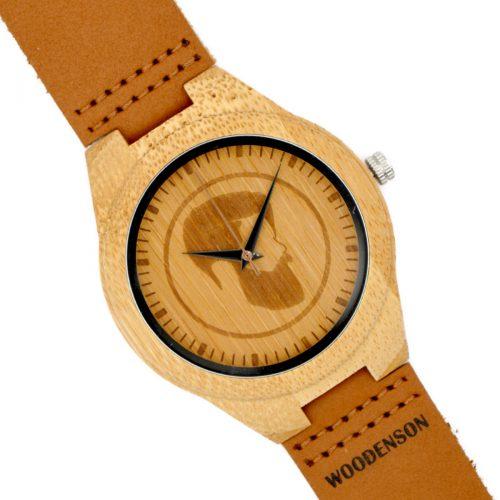8a54c50d9861 Reloj de madera de bambú Bardot Amarillo - Woodenson