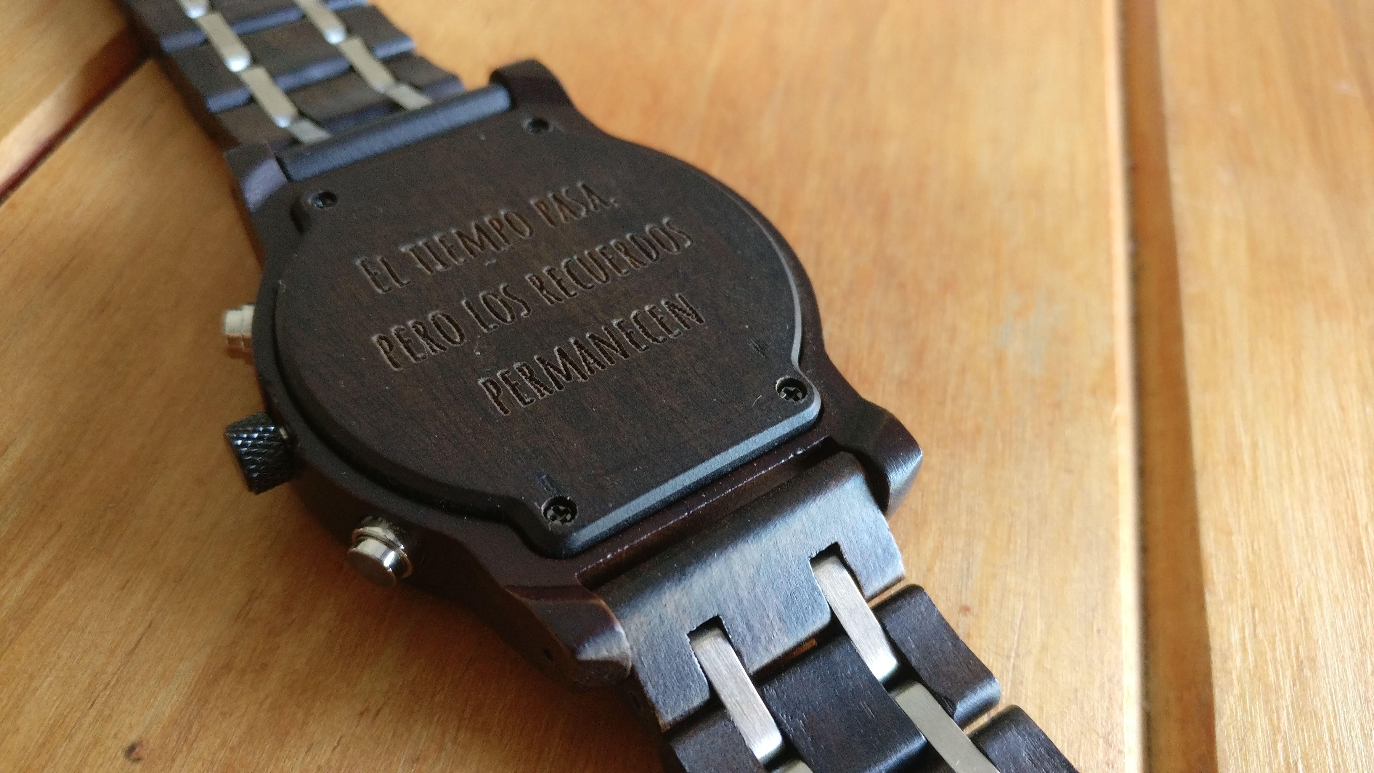 Dedicatorias Para Relojes Elige La Tuya Woodenson